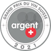 Médaille d'argent Grand Prix du vin Suisse