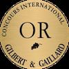 Médaille d'OR Concours Gilbert & Gaillard