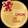Médaille d'OR Concours International de Lyon