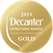 Médaille d'OR Decanter World Wine Awards